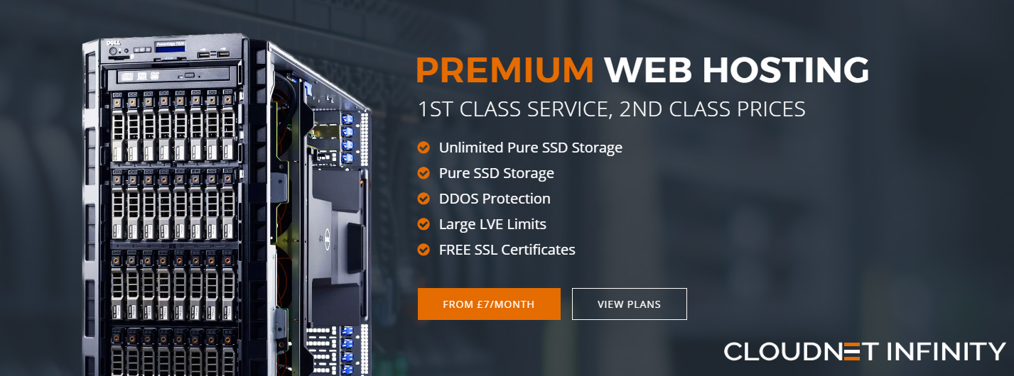 cPanel Cloud Web Hosting by Cloudnet Infinity