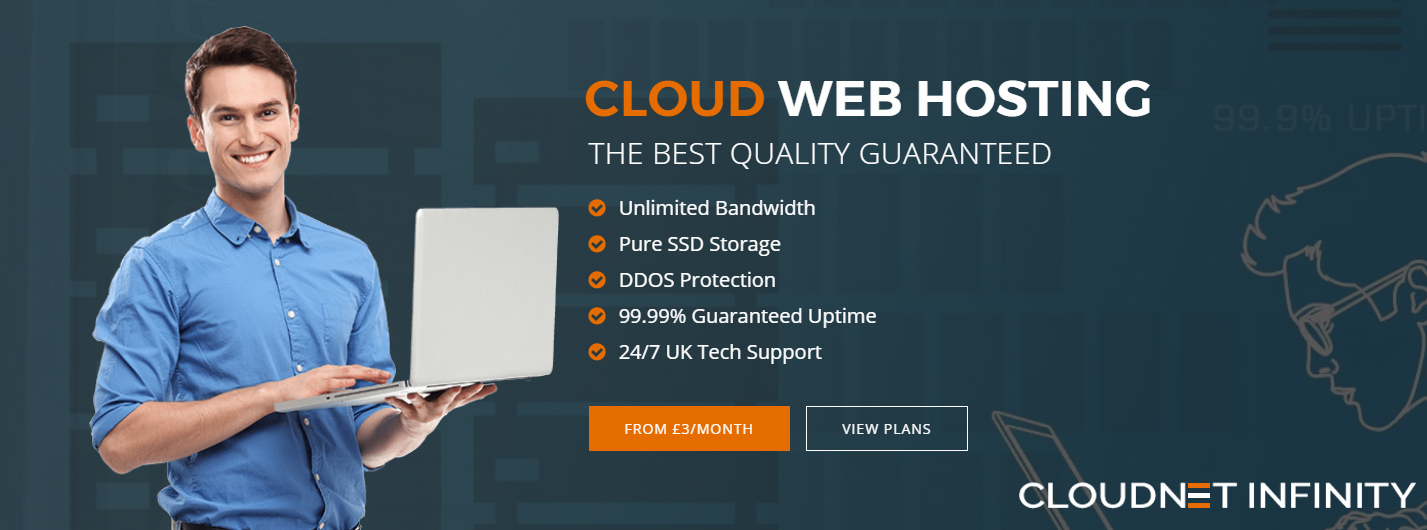 Premium Cloud Web Hosting by Cloudnet Infinity